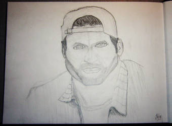 Sketch of Scott Patterson for drawing class by woubuc