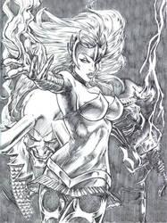 The Enchantress by hadesillustrations