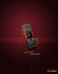 Nokia 5310 XpressMusic AD by ArtistUnion