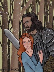 The Bird and The Hound by CootieInfestation