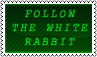 Follow the white rabbit by black-cat16-stamps