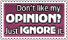 My opinion by black-cat16-stamps