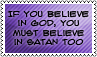 If you believe... by black-cat16-stamps