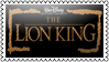 The lion king by black-cat16-stamps