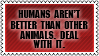 We all are animals by black-cat16-stamps