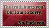Truth - dedicated to pussies by black-cat16-stamps