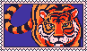 Tiger stamp 001 (Alt colors) by BEEPUDDING