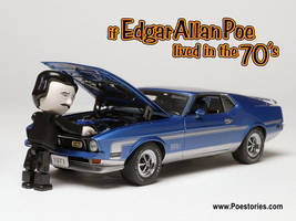 If Poe lived in the 70's by gallery215