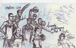 Meeting the HARLEM WIZARDS by ozziecobblepot
