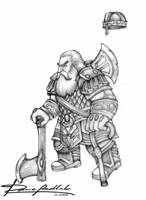 Gimli, the new look by ozziecobblepot