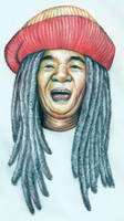 Mbah Surip, 1949-2009 by ozziecobblepot