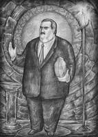 Immolation of Paul Bearer by ozziecobblepot