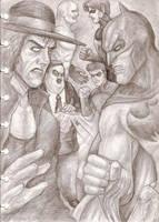 Undertaker Vs Batman II by ozziecobblepot