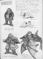 Gnome Study by ozziecobblepot