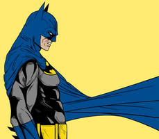 Classic Caped Crusader by darknight7