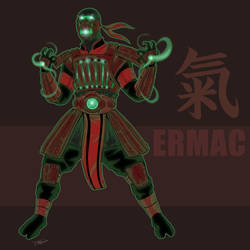 Ermac Redesign by darknight7