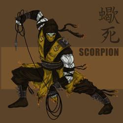 Scorpion Redesign by darknight7