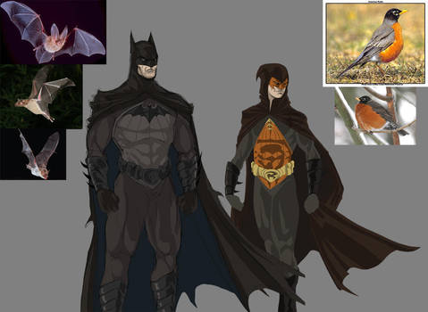 Batman and Robin upgrade by darknight7
