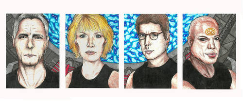 ACEO: Team SG-1 Edition by Augala