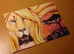 ACEO: Savanna dreams by Augala