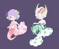 [BloomPuffs] MerMay SeaPuffs adopts [CLOSED] by TheStevieBoy