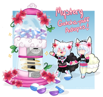 [BloomPuffs] Mystery Gatcha adopts! [CLOSED] by TheStevieBoy