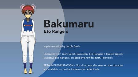 Eto Rangers in Kisekae - Bakumaru by winvistauser001