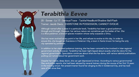 Pokemon Kisekae OC - Terabithia Eevee by winvistauser001