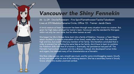 Vancouver the Shiny Fennekin by winvistauser001