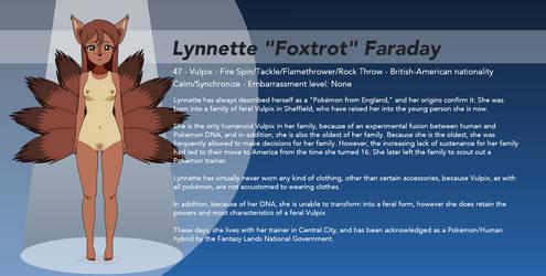 Pokemon Kisekae: Lynnette Faraday (2018 Update) by winvistauser001