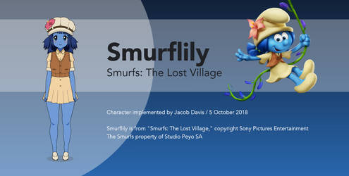 Smurfs in Kisekae: Smurflily by winvistauser001