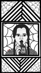 Wednesday Addams  by luntil