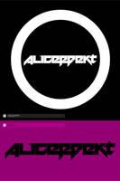 aliceffekt logo.type. by Raven30412