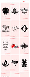1st complete logopack by Raven30412