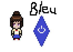 Bleu Sprite by JelliPuddi