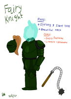 The Unseelie Warrior by JelliPuddi