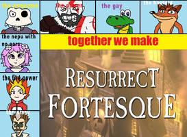 Resurrect Fortesque by JelliPuddi