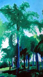 Pastel Palm by Combak