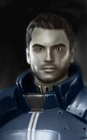 Kaidan Alenko - Mass Effect 3 by P-Russ