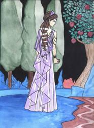 Persephone in the Underworld by Yaira