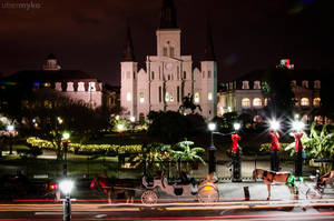 The St. Louis Cathedral - Jackson Square by ubermyko