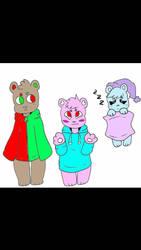 Bear adopts!  by AtomiicFanta