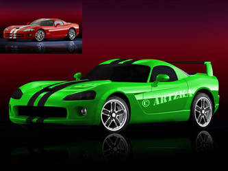 Dodge viper by artzka