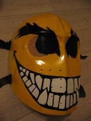 Evil smiley mask by artzka