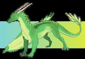 Custom dragon 11 by WoC-Brissinge