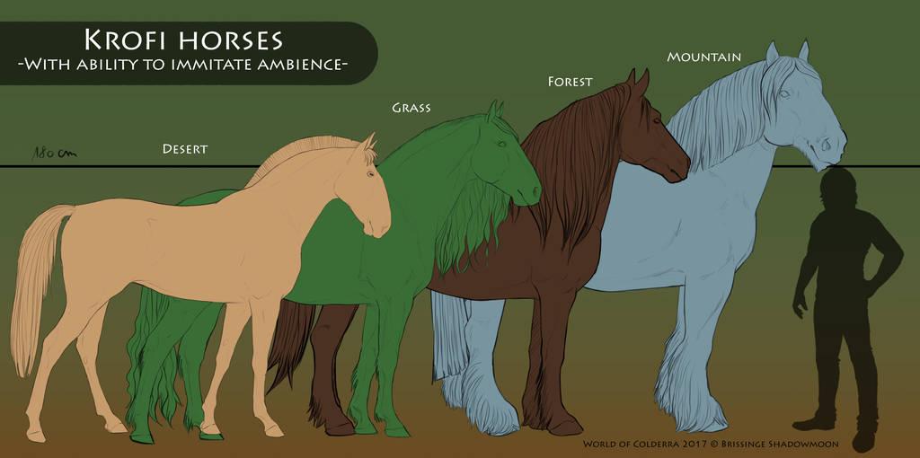 Krofi horses - Basic summary by WoC-Brissinge