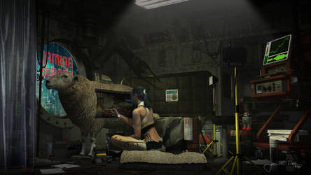 Electric Sheep (Animal Repair) by JacobCharlesDietz