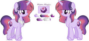 :WaterMoonverse: Moon Magic (updated ref) by EmaBases