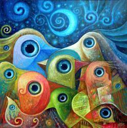 Dream Messengers VI by FrodoK
