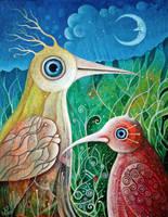 Magic Birds IV by FrodoK